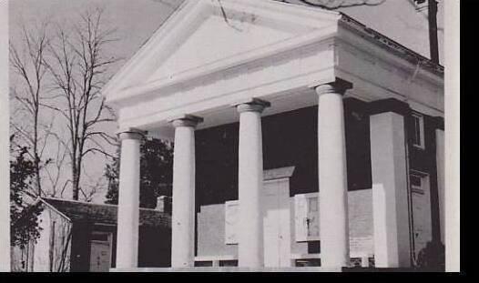 North Carolina Fluvanna County Court House Dexter Press