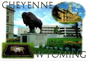 Wyoming Cheyenne State Capitol Multi View