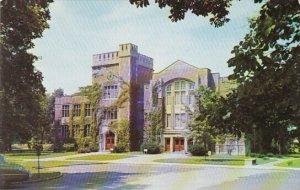 The Library And Assembly Hall Ball State Teachers College Muncie Indiana