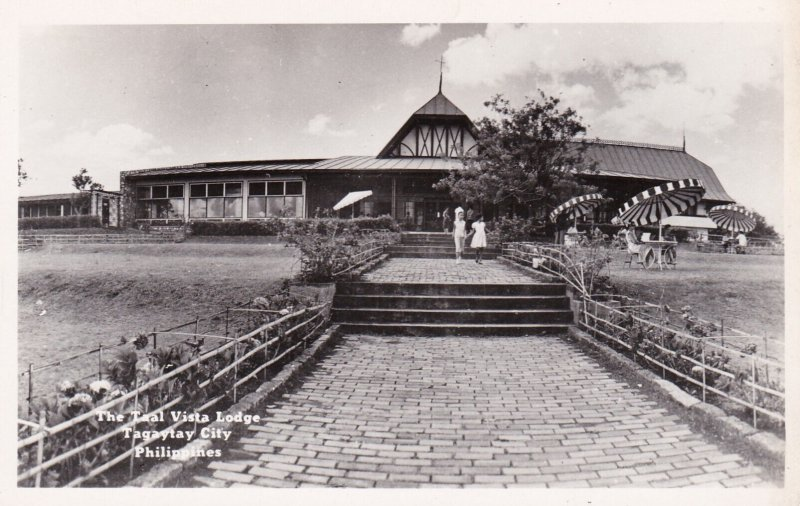 RP: The Taal Vista Lodge , TAGAYTAY CITY , Philippines , 1950s-60s