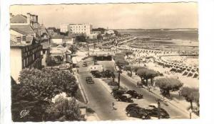 RP, Cote d'Argent, Promenade Du Bord De Mer Et La Plage, Arcachon (Gironde), ...