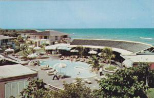 Bird's Eye View, Swimming Pool, Colony Hoel, Montego Bay, Jamaica, 40-60s