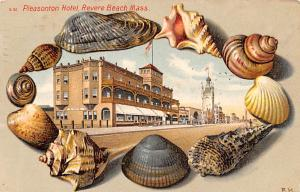 Pleasonton Hotel, Revere Beach MA, USA 1907