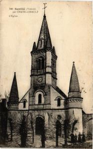 CPA Senille par CHATELLERAULT L'Église (255750)