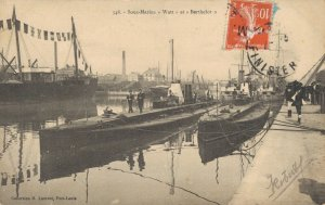 Nautica Sous Marins Watt et Berthelot French Submarine 03.31