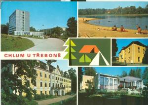 Czech Republic, Chlum U Trebone 1975 used Postcard