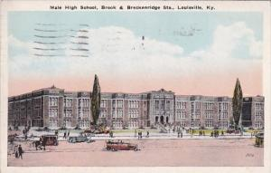 Male High School Brook & Breckenridge Streets Louisville Kentucky 1928