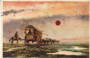 Argentina - La Carreta Painting