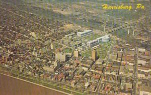 Pennsylvania Harrisburg Aerial View