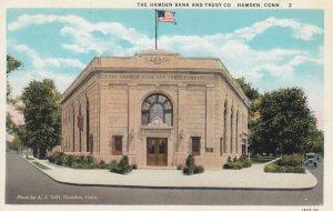 HAMDEN , Conn. , 1910s ; Hamden Bank & Trust Company