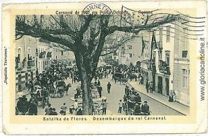 VINTAGE POSTCARD PORTUGAL: Açores AZORES PORTA DELGADA