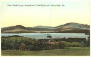 Moosehead Lake Highlands Greenville ME Unused