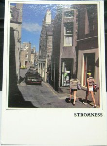 Scotland Stromness Graham Place and Dundas Street - unposted