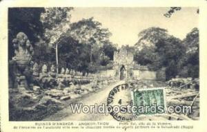 Ruines D'Angkor Cambodia, Cambodge Angkor Thom Ruines D'Angkor Angkor Thom