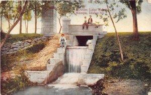 Outlet Lake Ethel Nampa Idaho 1913 postcard