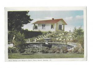 Rock Garden and Ranger's Cabin Parry Sound Ontario Canada