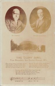 BR98598 the glory song albert hall albert hall london real photo    uk
