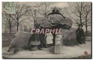 Old Postcard Megalith Dolmen Meudon Bellevue Terrace of & # 39observatoire (c...
