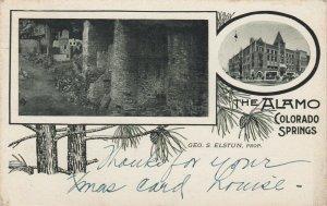 COLORADO SPRINGS , Colorado, 1912 ; The Alamo Hotel