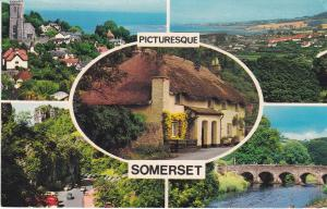 Post Card Somerset Picturesque Somerset