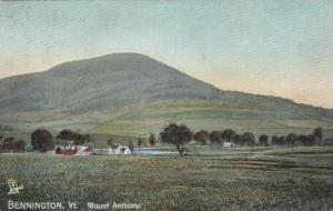 BENNINGTON , Vermont, PU-1908; Mount Anthony, TUCK # 2651
