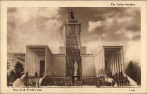 1939 NY World's Fair Postcard - ITALY