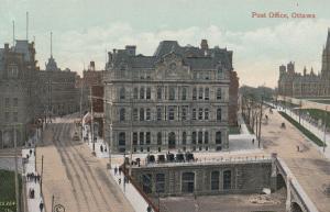 Post Office Ottowa Vintage Canada Postcard