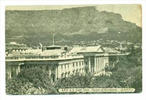 A.P.A. Cape Town, Houses of Parliament , South Africa , 1920-40s