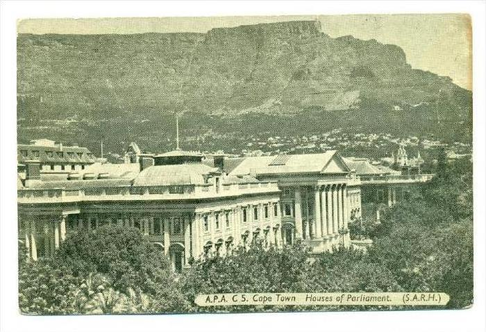 Image result for south african parliament 1920