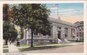 Illinois Champaign Post Office