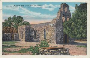 SAN ANTONIO, Texas, PU-1933; Mission San Francisco De Espada
