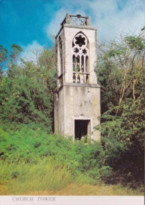 Saipan Old Church Tower