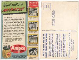 AMPCO Lubricator, Littlefields Jenny Station, Auburn ME
