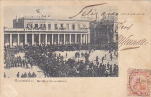 Uruguay Montevideo Batallon Universitario 1903