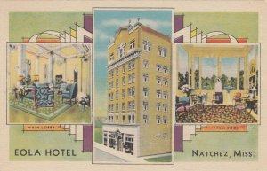 NATCHEZ , Mississippi , 1930-40s ; Eola Hotel