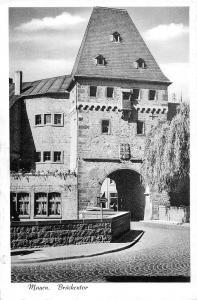 Germany Mayen Brueckentor tour tower AK