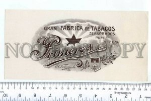 500059 Gran Fabrica de TOBACOS Vintage cigar box large label