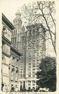Municipal Building skyscraper Real Photo Postcard New York City 1906