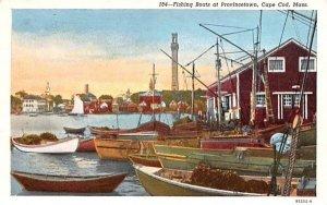 Fishing Boats in Provincetown, Massachusetts