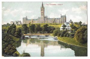 Scotland Glasgow The University F Bauermeister UK Postcard