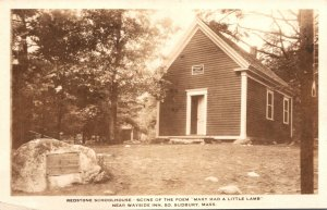 Massachusetts South Sudbury Longfellow's Wayside Inn Redstone Schoolhous...