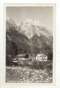 RP Gasthof Walderbrucke - Gnadenwald, Austria, PU-1953