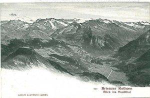 Ansichtskarten Schweiz VINTAGE POSTCARD: SWITZERLAND - BRIENZER ROTHORN 1904