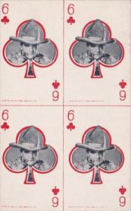 Vimtage Cowboy Arcade Car 6 Of Clubs