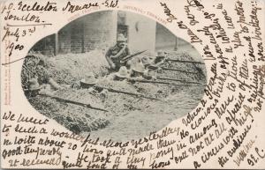 Firing Practice Imperial Yeomantry Boer War c1900 TUCK Postcard E53
