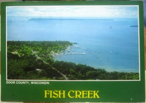 United States Door County Wisconsin Fish Creek - posted 1989