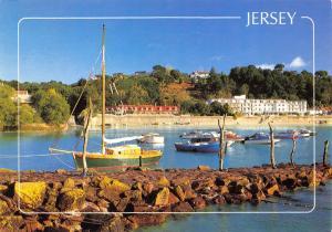 Jersey Postcard, 2006 St Brelades Bay, Channel Islands by John Hinde Ltd O98