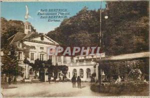 Old Postcard Bad Bertrich Spa Establishment