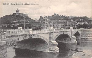 Italy Torino Ponte Umberto Le Monte Cappuccini Brucke Bridge