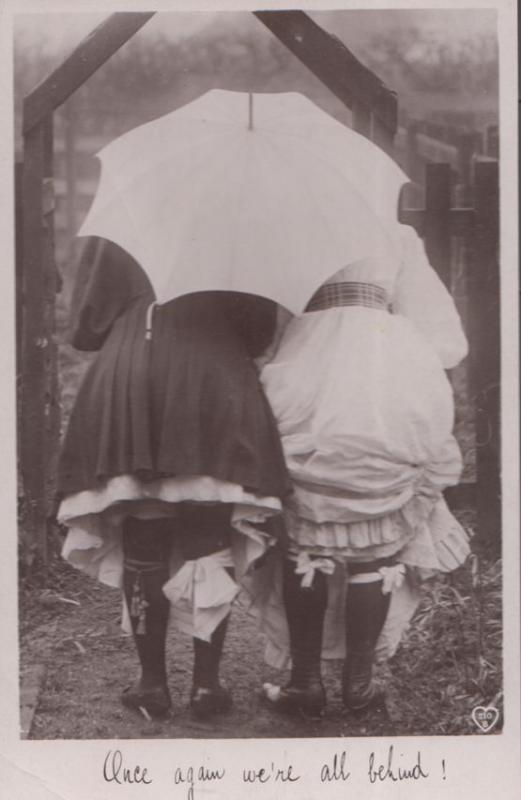 Upskirt ladies day Vintage Photos